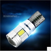 Wholesale Small Led Panels - Small Car Lights LED SMD Car HID Canbus Error Free Wedge Light Bulb Lamp Chevrolet Panel Truck Car Lights Xenon