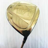 Wholesale golf clubs katana for sale - Group buy New Cooyute Golf Clubs KATANA VOLTIO NINJA Golde color Golf Driver degrees Graphite Golf shaft and Clubs Driver headcover