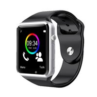Wholesale S4 Watch - New Bluetooth A1 Smart Watch Wristphone Sport Watches For Apple iPhone 6 Samsung S4 Note 2 Note 3 HTC Android IOS Phone