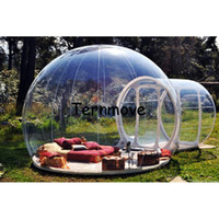 Wholesale inflatable bubble resale online - htzyhstore Inflatable Room Bubble Hotel Bubble Trade Show Room Inflatable Clear Bubble Tent Camping Tent Dome Tent Lawn Tent