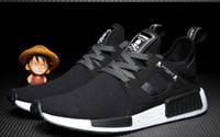 Wholesale Japan Famous Running - JAPAN X NMD XR1 MMJ Shoes Black Cheap Famous Color BOOST NMD XR1 x Mastermind Japan Womens Mens Sports Running Shoes Size 36-44