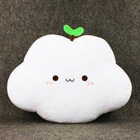 Wholesale High Backed Sofas - New Hot Cute Cloud Shape Pillow Sofa Back Cushion Office Nap Bolster White kawaii pillow High quality EMS