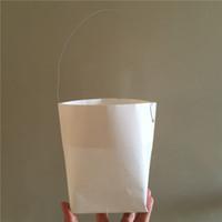 lanterna diy venda por atacado-10 pçs / lote X Manual portátil DIY Lanterna de papel Sacos de Vela Para Xmas Decoração do Casamento Do Partido Do BBQ suprimentos