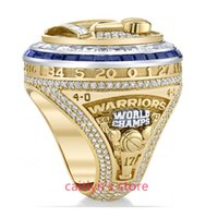 Wholesale Pave Ring Alloy - newest 2017 Golden State Basketball Warriors Curry Durant Championship Ring for man