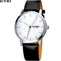 Wholesale Eyki Military - New Luxury Men Watches Famous EYKI Brand Reloj Military Sports Waterproof Fashion casual Leather Quartz Watch Relogio Masculino