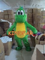 Wholesale Super Mario Characters Fancy Dress - Wholesale-Yoshi Dinosaur Super Mario Mascot Costume EPE Ger Fancy Dress Cartoon Character Outfit Suit Free Sh