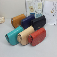 Wholesale New Body Shape - Free shipping hot sale 2016 new arrival women fashion classic pig bag Simple chain Crocodile pattern PU mesenger bag special offer