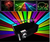 Wholesale Dj Laser Light 3d - 1000MW 3D RGB Laser Light With SD Card and safe key system and free laser light ishow software programme