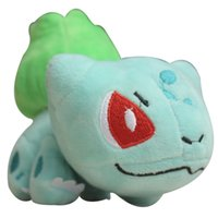Wholesale cute pokemon - Poke mo n Plush Toys Bulbasaur Cute Lying Plush Toys Christmas Gift