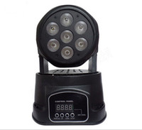 Wholesale hot sell LED Mini wash x10w RGBW Quad with advanced channels china Moving Head