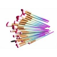 Wholesale Plastic Eyeliner - 24PCS SET Spiral Makeup Brush Set Professional Make Up Brushes Eyebrow Eyeliner Powder Brushes Tools 3001096