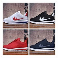Wholesale Red Net Fabric - 2017 Hot Sale Cortez Mens Womens Net Point Running Shoes for Sculpture High Frequency Top quality Outdoor Classic Casual Sneakers 36-45