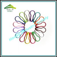 Wholesale Wholesale Safety Pins - 22mm Brilliant Colored Pear Shaped bulb shaped Hang Tag Safety Pins For Knitting 1000 pcs per pack