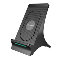 Wholesale fans heating resale online - S550 Universal V A Wireless Fast Charger With Fan Heat Dissipation For iPhone X Plus s8 Quick Charging Stand