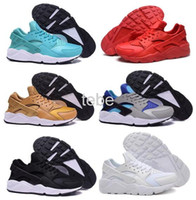 Wholesale Top Low Price Shoes - 2016 Ultra low price Hot Air Huarache Running Shoes For Womens Men, Cheap Top Quality Hot Air Huaraches Women Men Sneakers Size 36-46