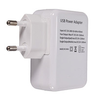 Wholesale Ipad Data Power Cable - New EU 4 USB Port Power Adapter HUB EU Plug Wall Charger For iPhone for iPad for Galaxy Top Sale Product