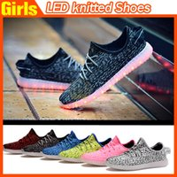 Wholesale Clear Colorful Boots - 2016 Top LED Shoes light colorful Flashing Shoes with USB Charge Unisex Fluorescent Couple Shoes For Party and Sport Casual Shoes DHL Free