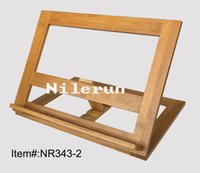 Wholesale Bamboo book reading stand rack holder