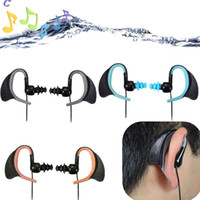 3.5mm Sport Cuffia Auricolare Nuoto Surfing Impermeabile IPX8 Cuffie per iPhone ipod mp4 Phone