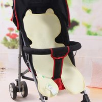Wholesale Retail Baby Car Seat - Retail&Wholesale Baby Stroller Mat Summer Breathable Bamboo Fiber Prams Seat Liners Comfy Car Seat Pad Toddler Cool Stroller Mat VT0313