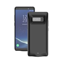 Wholesale External Battery Charger Note - 5700mAh External Battery Backup Charger Case For Samsung Note 8 Pack Power Bank Case Cover Battery Case