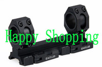 Wholesale Double Ring Rifle - Tactical Double Ring 25mm to 30mm Rifle Scopes Mount Weaver Picatinny Scope fits 20mm rail