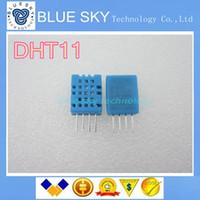 Wholesale Dht11 Digital Temperature - Wholesale-Free Shipping 20PCS DHT-11 DHT11 Digital temperature and humidity sensor