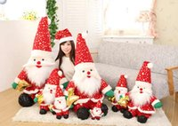 Wholesale Anime Dolls For Sale - Plush toys for children 2 colors of Santa Claus doll Doll gift Christmas gifts Plush toys 25cm-160cm Wholesale sales