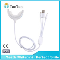 Wholesale Mini Teeth Whitening Lights - 2016 new style Teeth Accelerator   Mini teeth whitening light with 16 LEDs and Dual tray beauty machine for tooth bleaching