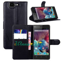 Wholesale Star Mobile Case - Stylish Hybrid PU Leather Wallet Handbag Book Cover Case For France wiko highway star 4G Mobile Phone Cases Shell