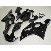 Wholesale Yamaha R6 Abs - 3 Free gifts New ABS Fairing Kits 100% Fitment For YAMAHA YZF-R6 98-02 YZF600 1998 1999 2000 2001 2002 bodywork set all black glossy