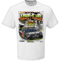 Wholesale Turtle Neck Blue Green - Martin Truex Jr. 2017 NASCAR Cup Series Regular Season Champion Tales of the Turtles 400 Race Winner One-Sided T-Shirt