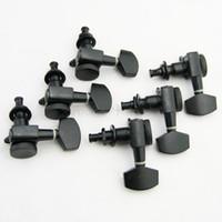 Wholesale Auto Acoustics - 3L3R Auto lock Electric Acoustic Guitar Machine Heads Black