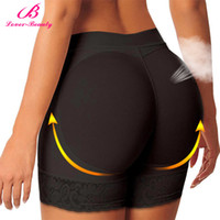 Wholesale Animal Underwear - Wholesale-Lover Beauty Butt Lifter Padded Panty Enhancing Body Shaper For Women Abundant Buttocks Butt Lift With Tummy Control Underwear