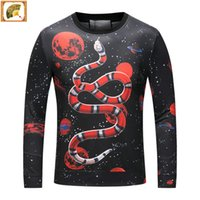 Wholesale Luxury Warm Clothes - brand Men's Warm clothes long T-Shirts clothes Embroidery many style 2017 hot sale fashion Luxury personality by size M-3XL