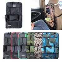 Wholesale Hanger Organiser - Wholesale-Car Organizer Pouch Seat Back Storage Bag Multi Pocket Backseat Hanger Auto Accessories Covers Organisateur Voiture Organiser