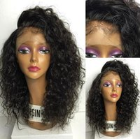 Wholesale Human Brazillian Hair 5a - Best Quality 5A Brazillian Human Hair Lace Front Wig&Glueless Full Lace Wigs Body Wave Free Shipping For Black Women