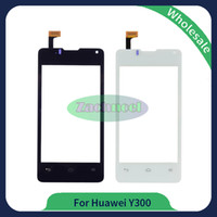 Wholesale Hot Touch Digitizer - For Huawei Ascend Y300 U8833 T8833 Touch Screen Glass Lens Panel Digitizer New Hot Replacement Parts Black White Free Shipping