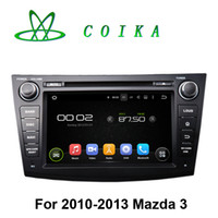 Wholesale Media Player For Chinese Tv - Quad Core Android 5.1 System Tape Recorder For Mazda 3 2010-2013 Car DVD WIFI 3G Radio RDS BT OBD DVR 1024*600 Touch Screen Media Player