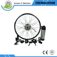 "Wholesale Electric Wheels Kit - 20""-700C(28"") wheel 36V 250w electric bicycle conversion kit electric wheel motor spokes motor ebike kit with 12ah Bottle batter"