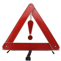 Wholesale Car Warning Triangle - Car trouble glance such folding a tripod The vehicle warning triangle frame On-board placard.
