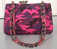 Wholesale Silk Knit Tie Pattern - COWBOY CLOTH CAMOUFLAGE 1113 LEY BOY CHAIN BAG FLAP BAG Women Quilted Caviar chain Bag Snake pattern Bag Chain Bag Flap Bag