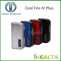 Wholesale Cool Connections - Innokin Cool Fire IV Plus 70W VW Mod with 3300mah Built-in Battery OLED Displaying with 510 Connection no atomizer Express Kit Free DHL