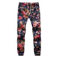 Wholesale Hawaiian Xl - New Design Fashion sweatpants Hawaiian Comfortable Leisure Brand High Quality Men Pants Size M-5XL Casual Mens Joggers
