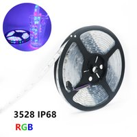 Wholesale Fishing Bathroom - IP68 Waterproof 3528 LED Strip DC12V 60LED M RGB Underwater for Swimming Pool Fish Tank Bathroom Outdoors