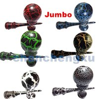 Wholesale Dh Jade - Hot selling Japanese traditional wooden toys kendama skills ball crack jade sword ball 25cm kendama Beech customize LOGO free shipping SF DH