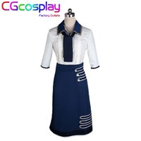 Wholesale Elizabeth Cosplay - Wholesale-Free Shipping Cosplay Costume Bioshock Infinite 3 Elizabeth Uniform Retail Wholesale Halloween Christmas Party