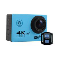 ltps lcd оптовых-Высокое качество f60r 170º HD широкоугольный объектив WIFI открытый приключения спорт камера Deportiva шлем Cam 30 м подводный водонепроницаемый 2.0' LTPS ЖК -