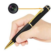 Wholesale camera shaped for sale - Hot sale Portable Mini Camera HD P Pen Camera Micro Pocket Camera Pocket DVs Pen Shape Video Recorder