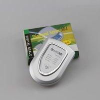 шкала увеличения оптовых-Мини электронный карманный масштаб 200 г 0.01 г ювелирные изделия Алмазный масштаб баланс ЖК-дисплей с розничной упаковке 100 шт. вверх